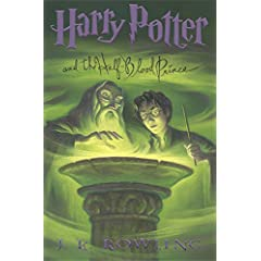 Harry Potter #6 cover