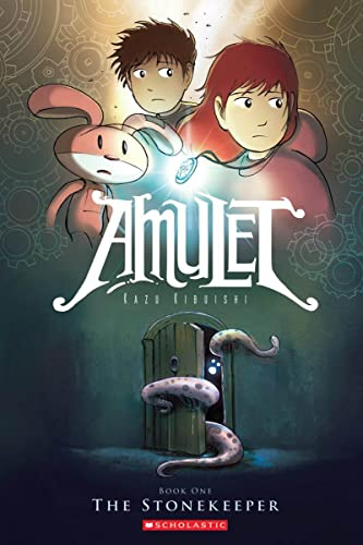 Amulet Book One: The Stonekeeper cover