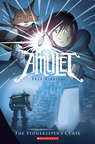 Amulet Book 2: The Stonekeepers Curse cover
