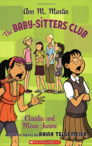 The Baby-Sitters Club: Claudia and Mean Janine cover