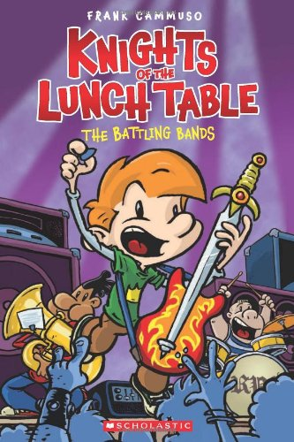 Knights of the Lunch Table: The Battling Bands cover