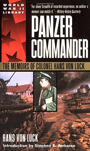 Panzer Commander Book Cover Picture