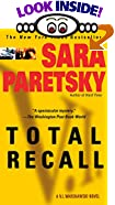 Total Recall: A V.I. Warshawski Novel by  Sara Paretsky (Mass Market Paperback - October 2002) 