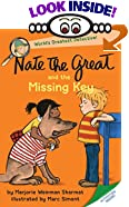 Nate The Great And The Missing Key (Nate The Great, paper) by  Marjorie Weinman Sharmat, Marc Simont (Illustrator) (Paperback)