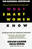 WHAT SMART WOMEN KNOW - book cover picture