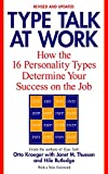 Type Talk at Work (Revised) : How the 16 Personality Types Determine Your Success on the Job