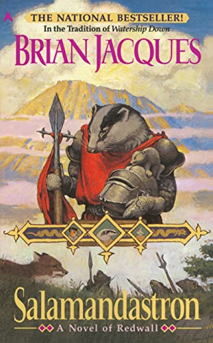Salamandastron: A Novel of Redwall, Brian Jacques