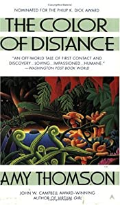 BOOK REVIEW: The Color of Distance by Amy Thomson