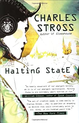 REVIEW: Halting State by Charles Stross