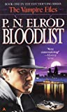 Bloodlist (Vampire Files (Paperback)) - book cover picture