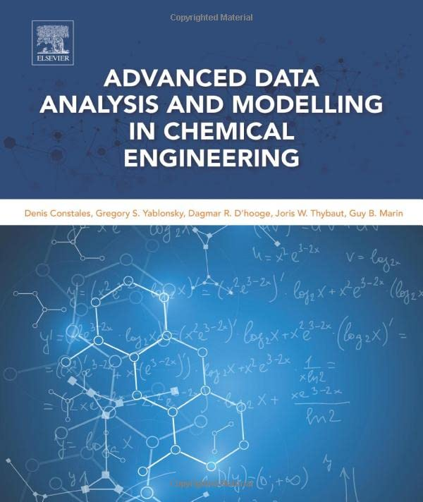 PDF Advanced Data Analysis and Modelling in Chemical Engineering