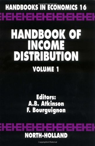 PDF Handbook of Income Distribution Volume 1 Handbooks in Economics