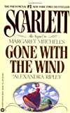 "Scarlett : The Sequel to Margaret Mitchell's ""Gone With the Wind"" - book cover picture"
