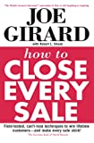 How to Close Every Sale - book cover picture