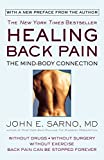 Healing Back Pain : The Mind-Body Connection - book cover picture