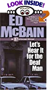 Let's Hear it for the Deaf Man by  Ed McBain (Author) (Mass Market Paperback - January 2001)