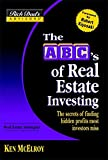 Rich Dad\'s Advisors: The ABC\'s of Real Estate Investing : The Secrets of Finding Hidden Profits Most Investors Miss (Rich Dad\'s Advisors)