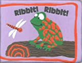Ribbit, Ribbit (Puffy Board Books) - book cover picture
