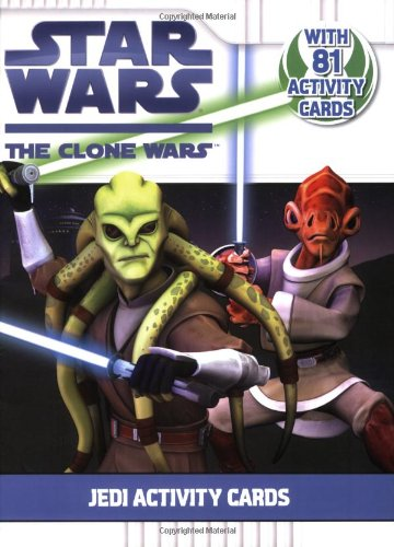 Jedi Activity Cards (Star Wars: The Clone Wars), n/a
