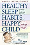 Healthy Sleep Habits, Happy Child - book cover picture