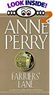 Farrier's Lane by  Anne Perry (Mass Market Paperback - March 1994) 