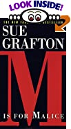 M Is for Malice by  Sue Grafton (Mass Market Paperback - January 1998) 