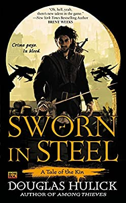 [GUEST REVIEW] Kathryn Ryan on SWORN IN STEEL by Douglas Hulick