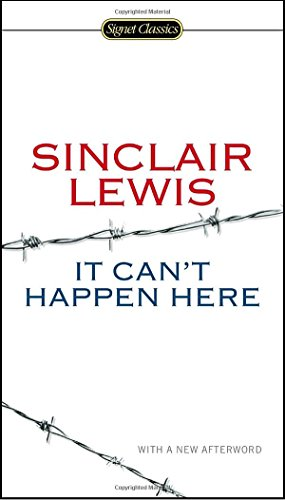 It Can't Happen Here Book Cover Picture