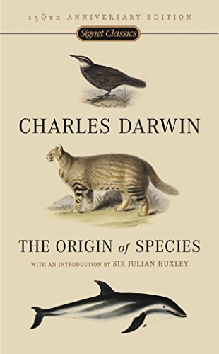 The Origin Of Species, by Darwin, C.