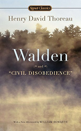 Walden and Civil Disobedience - Henry David ThoreauW.S. Merwin, William Howarth