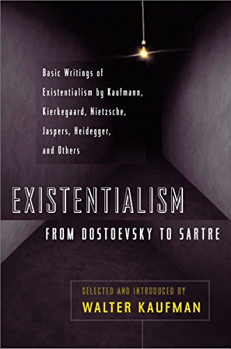 Existentialism from Dostoevsky to Sartre Book Cover Picture