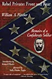 Rebel Private: Front and Rear : Memoirs of a Confederate Soldier - book cover picture