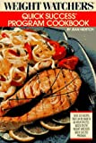 Weight Watchers Quick Success Program Cookbook - book cover picture