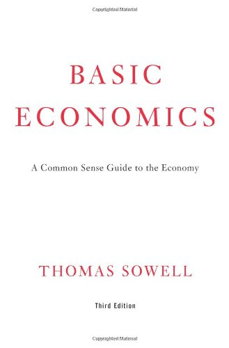 Basic Economics Book Cover Picture