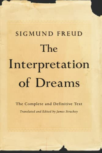 The Interpretation of Dreams, by Freud, Sigmund