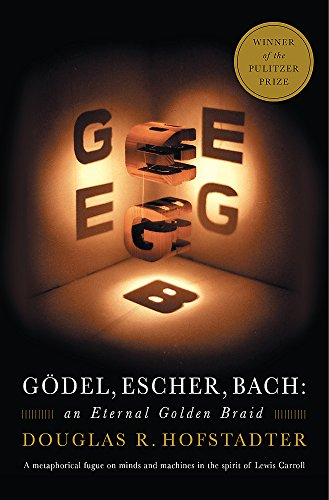 Gödel, Escher, Bach: An Eternal Golden Braid Book Cover Picture
