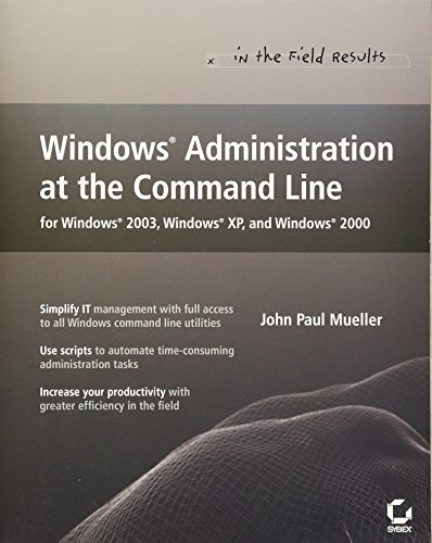Book Cover: Windows Administration at the Command Line for Windows 2003, Windows XP, and Win