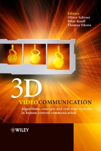 Book Cover: 3D Videocommunication : Algorithms, concepts and real-time systems in human cent