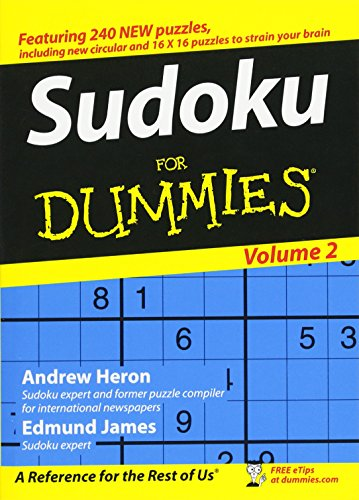 Sudoku For Dummies, Heron, Andrew; James, Edmund