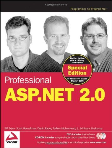 Professional ASP.NET 2.0 Special Edition (Wiley Desktop Editions)