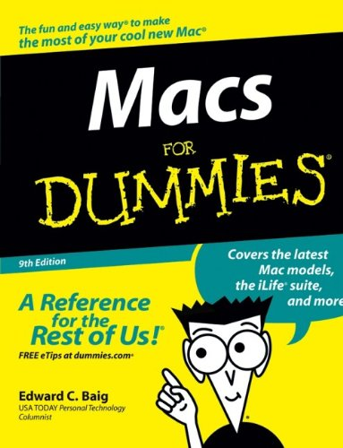 Book Cover: Macs For Dummies (Macs for Dummies)