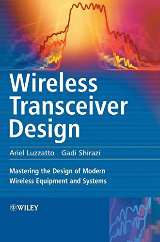 PDF Wireless Transceiver Design Mastering the Design of Modern Wireless Equipment and Systems