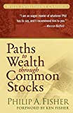 Book Cover: Paths To Wealth Through Common Stocks by Philip A. Fisher