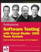 PDF Professional Software Testing with Visual Studio 2005 Team System Tools for Software Developers and Test Engineers