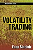 SINCLAIR: Volatility Trading, + CD-ROM