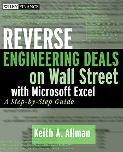 PDF Reverse Engineering Deals on Wall Street with Microsoft Excel A Step by Step Guide