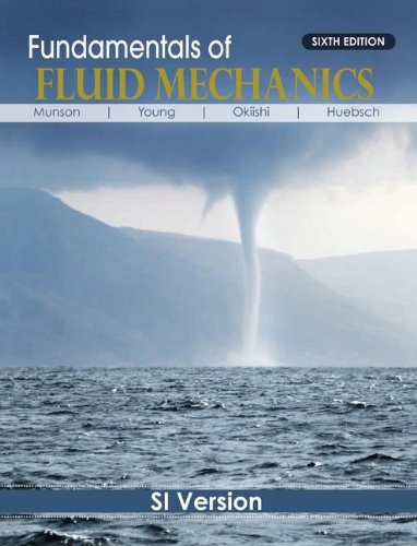introduction to fluid mechanics homework solutions