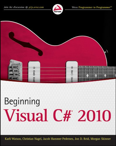 Beginning Visual C# 2010 (Wrox Programmer to Programmer)