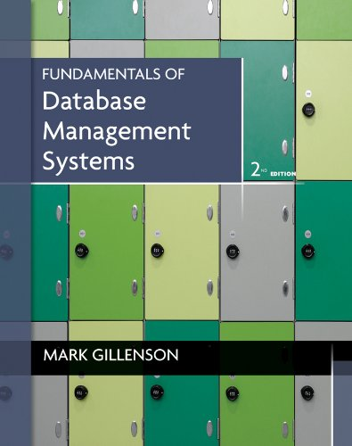PDF Fundamentals of Database Management Systems