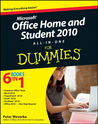 Office Home and Student 2010 All-in-One For Dummies